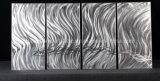Beautiful Silver Panel Metal Wall Art for Home Decor