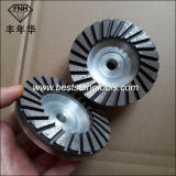 Sintered Cup Turbo Segment Polished Stone Concrete Diamond Grinding Wheel