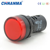 AC 220V Red LED Power Indicator Pilot Single Light