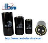 Single Phase Electrolytic Motor Flange Type AC Motor Start Capacitor