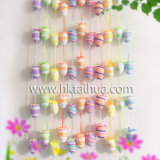 Decorations Plastic Easter Eggs with The-009