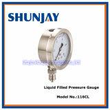 Stainless Steel Oil Pressure Gauge