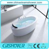 Modern Freestanding Acryl Bathtub with Pillow (BL1006S)