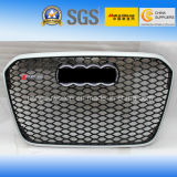 Silver Front Auto Car Grille for Audi RS6 2013""