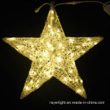 LED Ball Motif Curtain Light Holiday Star Light Party Decoration