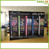 3X3 Portable Pop up Banner Quick Fabric Display