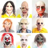 Funny Animal Head Female Masks Halloween Latex Party Mask