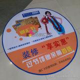 Custom Advertising Floor Vinyl Self Adhesive Sticker with Skidproof Lamination