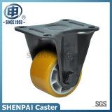 "2.5""Aluminium Core PU Fixed Caster Wheel"