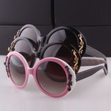 Charming Women Style Sunglasses with Flowers Frame