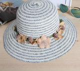 Summer Fashion Women Straw Panama Hat