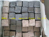 Outdoor Paving Stone, Driveway Paving Tiles, Mesh Cobble Stone Pavers