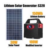 Portable Solar Lighting System Power Pack Solar Generator for Home Use