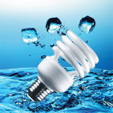9W T2 Half Spiral Energy Saver B22 Lamp with CE (BNFT2-HS-D)