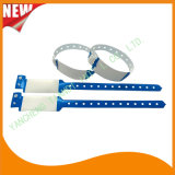 Professional Entertainment Write-on Disposable Plastic ID Bracelet Wristbands (E8020A-16)