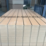 Beech Color Melamine MDF with Slot
