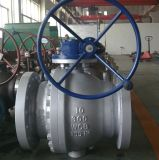 2PC Trunnion Mounted Flange Stainless Steel Ball Valve