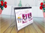 V Shape Desktop Calendar Stands, Acrylic Calendar Display