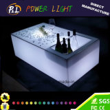 Illuminated Bar Furniture LED Table with Ice Box