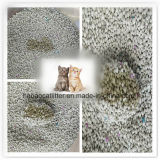 Nature Bentonite Litter Used for Cat Toliet