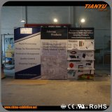 Advertising Aluminum Frame Fabric Graphic Displays Stand