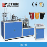 Popular on Paper Cup Sleeve Machine/ Double Layer/ Ripp Layer (TM-35)