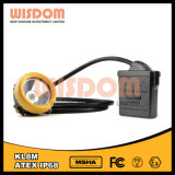 Wisdom Kl8m Mining Headlamp with Cable, Water Proof Helmet Light