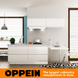 Hotel Project Modern Lacquer Wooden Wholesale Modular Kitchen Furniture (OP15-L02)