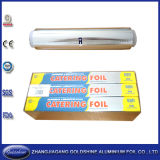 Disposable Household Aluminium Foil Roll for Food Wrapping