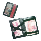 Fashion New Design Leather Magic Wallet with Elastic Band