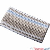 Soft Jacquard Microfiber Waffle Bath Towel