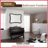 Rubber Wood New Design Bathroom Cabinet