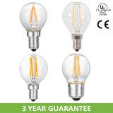 100lm/W Globe 4W LED Filament Bulb Lamp