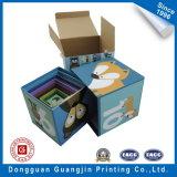 Four Color Printed Children Educational Paper Cardboard 3D Puzzle