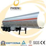Hot Sale 36cbm Tri-Axle Fuel Petrol Tank Trailer (Q235B Steel)