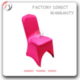 Pink Color Succinct Satin Chair Coverings (RT-51)