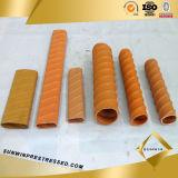 Manufacture Wholesale HDPE Corrugated Pipe for Prestressed Concrete