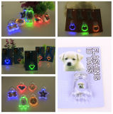 Flashing Luminous Light Pet LED Tag Dog Collar Pendant