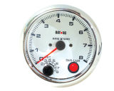 "3 3/4"" (95mm) Tachometer for Single Color LED Tachometer (8040SSC)"