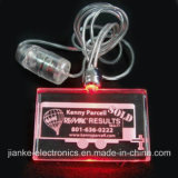 Battery Power LED Flashing Necklace with Logo Print (2001)