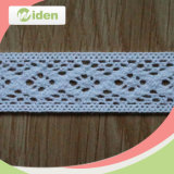 Free Sample Available White Mesh Timming Cotton Geometry George Lace