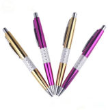 New Design Metalpen Metal Pen Stationery Promotion Metal Ballpen Aluminium