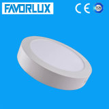 3000K - 6000K Round Surface Mounted LED Ceiling Panel Light 18W
