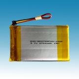 3.7V/2.7ah Li-ion Polymer Battery Packs