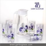 Thermal Transfer Printed Glass Water Set