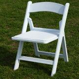 PP Resin Wedding Folding Chair White Padded Resin Folding Chair