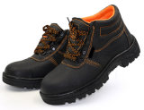 Cheap Steel Toe Protection Industrial Leather Safety Shoe (SS-009)