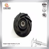Customized Ductile Iron Cover Pump Impeller