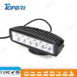 6inch Auto Car Light 18W Motor LED Driving Light Bar