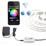 WiFi RGB+White CCT Ajustable LED Strip Light Outdoor IP67